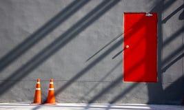Σκιές στο υπόβαθρο τοίχων Στοκ φωτογραφίες με δικαίωμα ελεύθερης χρήσης