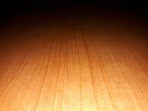 Σκιές του ξύλινου υποβάθρου Στοκ Φωτογραφίες
