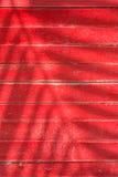 Σκιές των φύλλων στο κόκκινο πηχάκι Στοκ Εικόνες