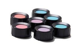 Σκιές χρώματος, μπλε, πορφύρα, μπλε, βιολέτα, κόκκινος, κυανή Στοκ φωτογραφίες με δικαίωμα ελεύθερης χρήσης