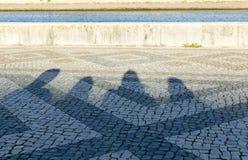 σκιές Στοκ Φωτογραφίες