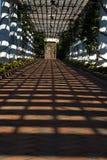 Σκιές Gazebo στοκ εικόνα