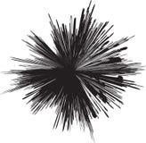 σκιαγραφία έκρηξης απεικόνιση αποθεμάτων