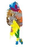 Σκιαγραφία γυναικών φθινοπώρου απεικόνιση αποθεμάτων