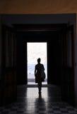 Σκιαγραφία γυναικών Στοκ εικόνες με δικαίωμα ελεύθερης χρήσης