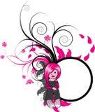 σκιαγραφία κοριτσιών emo ελεύθερη απεικόνιση δικαιώματος