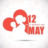 Ευτυχής εορτασμός ημέρας μητέρων. Στοκ εικόνα με δικαίωμα ελεύθερης χρήσης