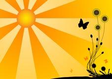 σκιαγραφία πεταλούδων Στοκ Εικόνα