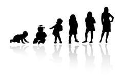 σκιαγραφία προσώπων Στοκ φωτογραφία με δικαίωμα ελεύθερης χρήσης