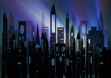 σκιαγραφία πόλεων απεικόνιση αποθεμάτων