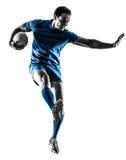 Σκιαγραφία φορέων ατόμων ράγκμπι που απομονώνεται Στοκ Εικόνες