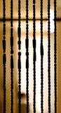 Σκιαγραφία χαντρών Στοκ φωτογραφία με δικαίωμα ελεύθερης χρήσης