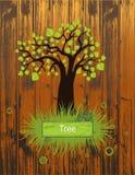 Σκιαγραφία δέντρων Στοκ Εικόνα
