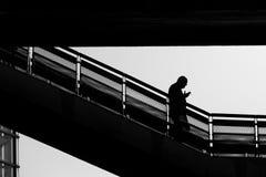 σκιαγραφία Στοκ Εικόνες