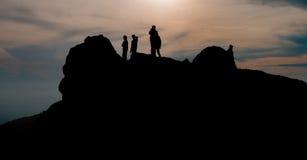 σκιαγραφία Στοκ Φωτογραφίες