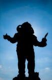 Σκιαγραφία Ganesha Στοκ εικόνα με δικαίωμα ελεύθερης χρήσης