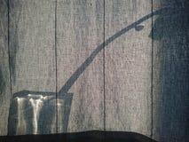 Σκιαγραφία Houseplant Στοκ φωτογραφία με δικαίωμα ελεύθερης χρήσης