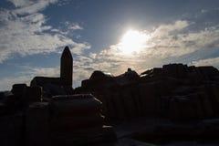 σκιαγραφία piran Στοκ εικόνες με δικαίωμα ελεύθερης χρήσης