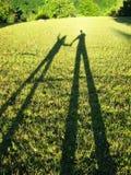 σκιαγραφίες ατόμων παιδιώ Στοκ εικόνες με δικαίωμα ελεύθερης χρήσης