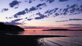 Σκιαγραφίες νησιών Στοκ Εικόνες