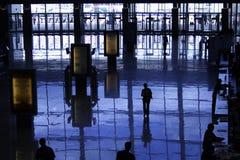 σκιαγραφίες Στοκ φωτογραφία με δικαίωμα ελεύθερης χρήσης