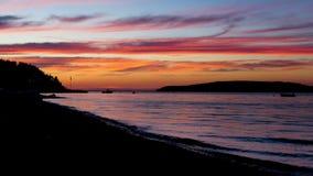 Σκιαγραφημένο τοπίο Στοκ Φωτογραφίες