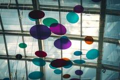 Σκιασμένοι δίσκοι και ελλείψεις χρώματος στοκ εικόνα με δικαίωμα ελεύθερης χρήσης