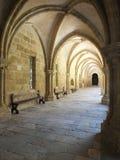 Σκιασμένο η Κοΐμπρα μοναστήρι Στοκ Εικόνες