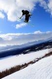 σκι άλματος Στοκ φωτογραφίες με δικαίωμα ελεύθερης χρήσης