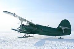 σκι αεροπλάνων στοκ εικόνες