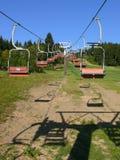 σκι ανελκυστήρων εδρών Στοκ εικόνα με δικαίωμα ελεύθερης χρήσης