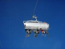 σκι ανελκυστήρων στοκ εικόνα