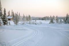 σκι διαδρομών στοκ εικόνες
