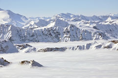 σκι θερέτρου ορών Στοκ εικόνες με δικαίωμα ελεύθερης χρήσης