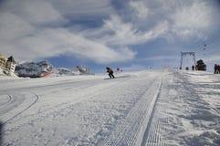 σκι θερέτρου στοκ φωτογραφία με δικαίωμα ελεύθερης χρήσης