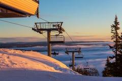 σκι θερέτρου Στοκ Φωτογραφίες