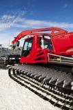 σκι θερέτρου snowplow Στοκ εικόνα με δικαίωμα ελεύθερης χρήσης