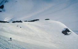 Σκι στην Ιαπωνία Στοκ Εικόνα