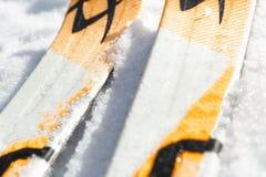 Σκι στο χιόνι Στοκ φωτογραφία με δικαίωμα ελεύθερης χρήσης