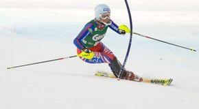 ΣΚΙ: Lienz Slalom Στοκ Φωτογραφίες