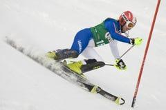 ΣΚΙ: Lienz Slalom Στοκ φωτογραφία με δικαίωμα ελεύθερης χρήσης