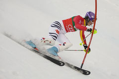ΣΚΙ: Lienz Slalom Στοκ Εικόνες
