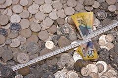 σκλήρυνση προϋπολογισμώ&n Στοκ Εικόνα