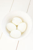 Σκληρά βρασμένα αυγά Στοκ Εικόνες