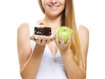 Σκληρές επιλογές διατροφής Στοκ Φωτογραφία