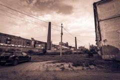 Σκληρή ζωή εργοστασίων Στοκ Φωτογραφία