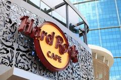 σκληρή ροκ του Ντουμπάι καφέδων Στοκ Εικόνες