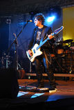 σκληρή ροκ bassist Στοκ Φωτογραφίες
