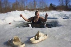 σκληραίνοντας πάγος τρυ&pi Στοκ Εικόνες