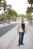Σκληρός άνδρας στις οδούς Στοκ φωτογραφία με δικαίωμα ελεύθερης χρήσης